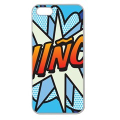 Comic Book Nino! Apple Seamless iPhone 5 Case (Clear)