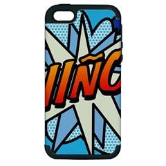 Comic Book Nino! Apple iPhone 5 Hardshell Case (PC+Silicone)