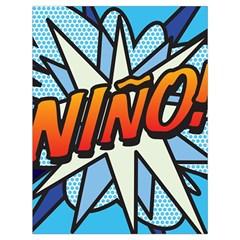 Comic Book Nino! Drawstring Bag (Large)