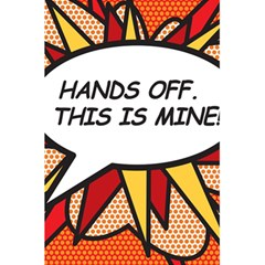 Hands Off. This is mine! 5.5  x 8.5  Notebooks