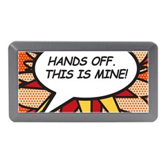 Hands Off  This Is Mine! Memory Card Reader (mini)