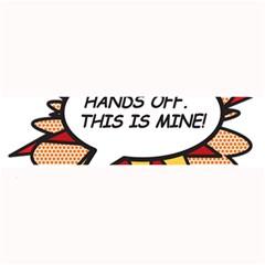 Hands Off Large Bar Mats