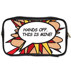 Hands Off Toiletries Bags