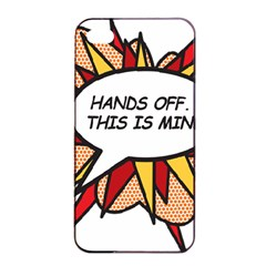 Hands Off Apple iPhone 4/4s Seamless Case (Black)