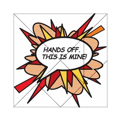 Hands Off Acrylic Tangram Puzzle (6  x 6 )