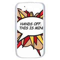 Hands Off Samsung Galaxy S III Case (White)
