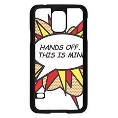 Hands Off Samsung Galaxy S5 Case (Black)