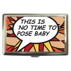 Comic Book This Is No Time To Pose Baby Cigarette Money Cases