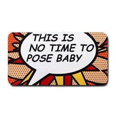 Comic Book This Is No Time To Pose Baby Medium Bar Mats