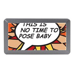 Comic Book This Is No Time To Pose Baby Memory Card Reader (Mini)
