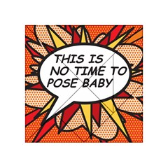 Comic Book This Is No Time To Pose Baby Acrylic Tangram Puzzle (4  x 4 )