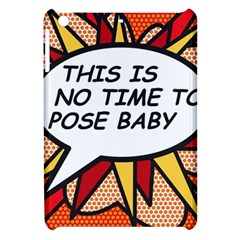 Comic Book This Is No Time To Pose Baby Apple iPad Mini Hardshell Case