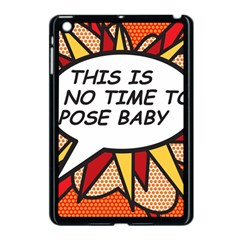 Comic Book This Is No Time To Pose Baby Apple iPad Mini Case (Black)