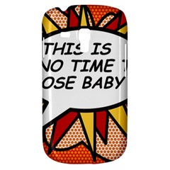 Comic Book This Is No Time To Pose Baby Samsung Galaxy S3 MINI I8190 Hardshell Case