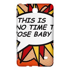 Comic Book This Is No Time To Pose Baby Samsung Galaxy Tab 4 (7 ) Hardshell Case