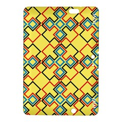 Shapes On A Yellow Background Kindle Fire Hdx 8 9  Hardshell Case
