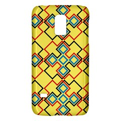 Shapes on a yellow backgroundSamsung Galaxy S5 Mini Hardshell Case