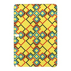 Shapes On A Yellow Backgroundsamsung Galaxy Tab Pro 10 1 Hardshell Case