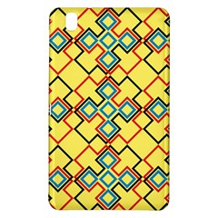 Shapes on a yellow background	Samsung Galaxy Tab Pro 8.4 Hardshell Case