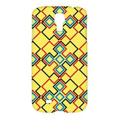 Shapes on a yellow background	Samsung Galaxy S4 I9500/I9505 Hardshell Case $10