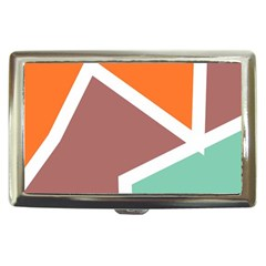 Misc shapes in retro colors Cigarette Money Case