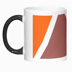 Misc shapes in retro colors Morph Mug