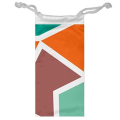 Misc Shapes In Retro Colors Jewelry Bag