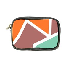Misc shapes in retro colors Coin Purse