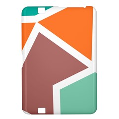 Misc shapes in retro colors Kindle Fire HD 8.9  Hardshell Case