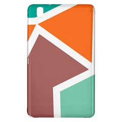 Misc shapes in retro colorsSamsung Galaxy Tab Pro 8.4 Hardshell Case