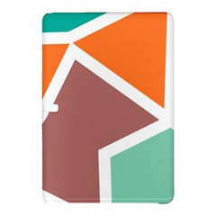 Misc shapes in retro colorsSamsung Galaxy Tab Pro 12.2 Hardshell Case