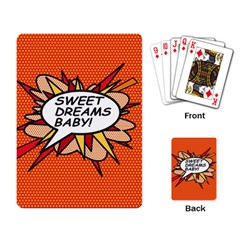 Sweet Dreams Baby!  Playing Card