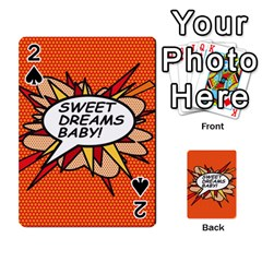 Sweet Dreams Baby!  Playing Cards 54 Designs
