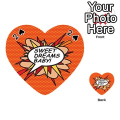 Sweet Dreams Baby!  Playing Cards 54 (Heart)
