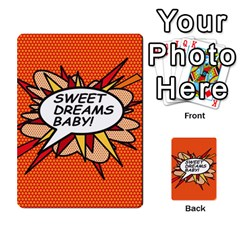 Sweet Dreams Baby!  Multi Purpose Cards (rectangle)
