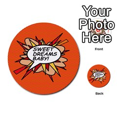 Sweet Dreams Baby!  Multi-purpose Cards (Round)