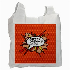Sweet Dreams Baby!  Recycle Bag (Two Side)