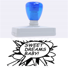 Sweet Dreams Baby!  Rubber Address Stamps (XL)