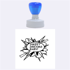 Sweet Dreams Baby!  Rubber Round Stamps (large)