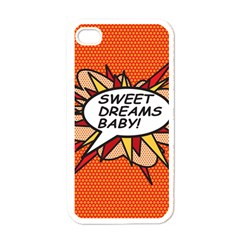 Sweet Dreams Baby!  Apple iPhone 4 Case (White)