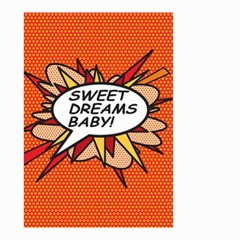 Sweet Dreams Baby!  Small Garden Flag (two Sides)