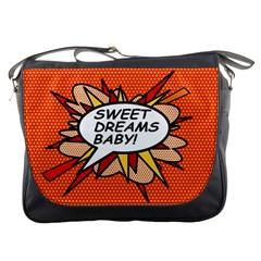 Sweet Dreams Baby!  Messenger Bags