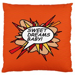 Sweet Dreams Baby!  Standard Flano Cushion Cases (One Side)