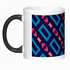 Rectangles and other shapes pattern Morph Mug