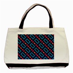 Rectangles and other shapes pattern Basic Tote Bag (Two Sides)