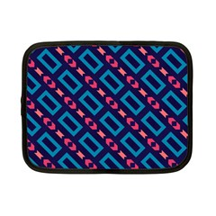Rectangles and other shapes pattern Netbook Case (Small)