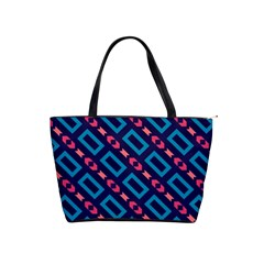 Rectangles and other shapes pattern Classic Shoulder Handbag