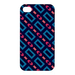 Rectangles and other shapes pattern Apple iPhone 4/4S Premium Hardshell Case