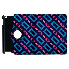 Rectangles and other shapes pattern Apple iPad 3/4 Flip 360 Case