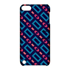 Rectangles and other shapes pattern Apple iPod Touch 5 Hardshell Case with Stand